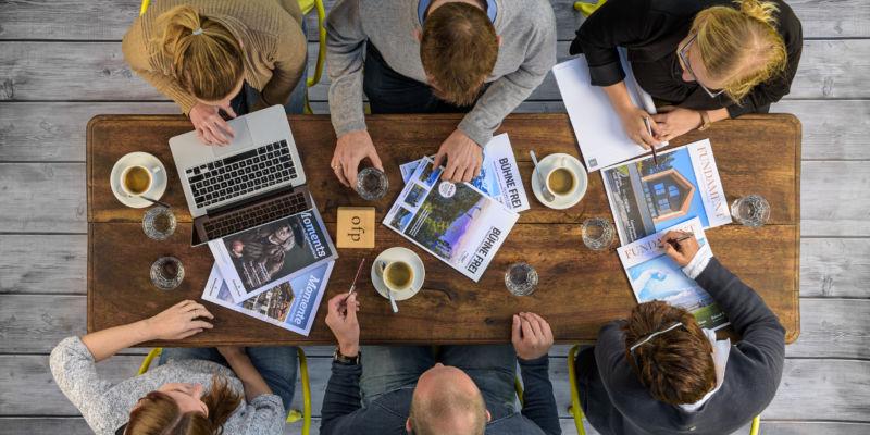Am Anfang eines jeden Konzeptes steht ein strategisches Agentur Briefing.