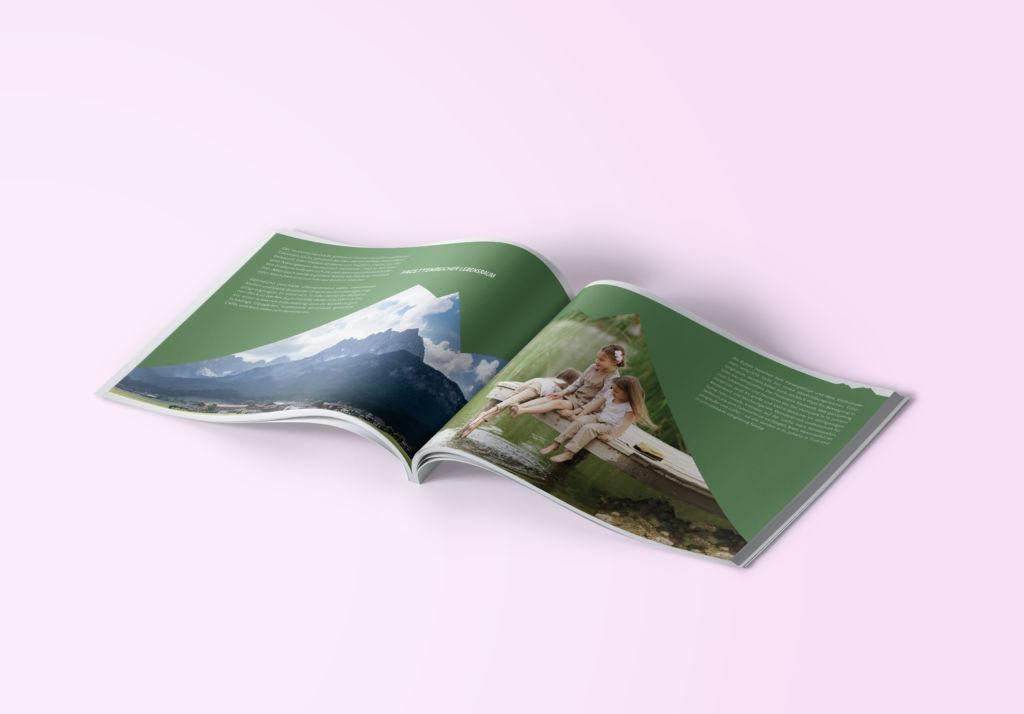 Broschüre Koasapark St. Johann in Tirol