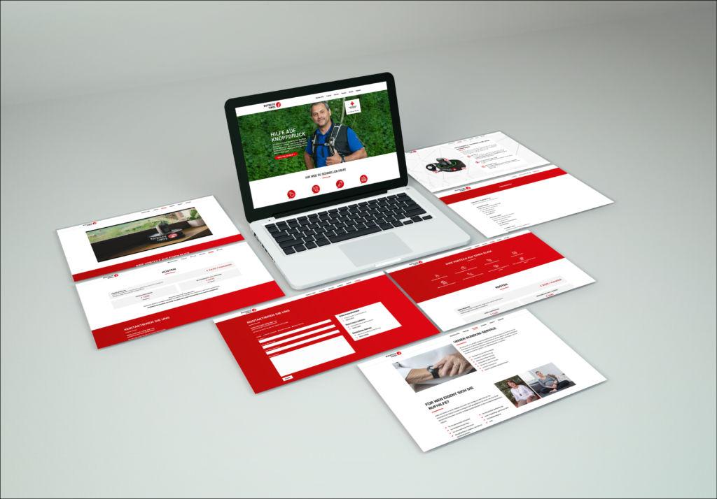 Neuer Webauftritt Rufhilfe Tirol