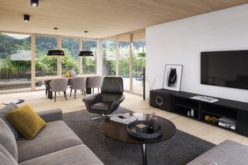 Im Naturquartier entstehen 34 hochwertig ausgestattete Eigentumswohnungen zwischen ca. 24 und 135 m2.