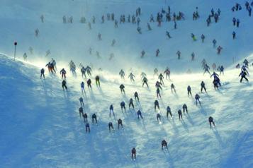 """""""Der weisse Rausch"""" ist der erste Bewerb des alpinen Triathlons """"Arlberg Adler""""."""