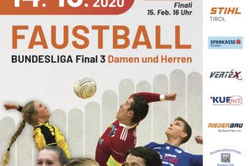 Am 14. und 15. Februar 2020 verwandelt sich Kufstein in eine Faustball-Hochburg.