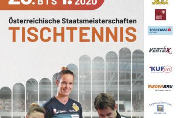 Am Samstag, den 29. Februar und am Sonntag, den 1. März 2020 finden die 90. Tischtennis-Staatsmeisterschaften in der Kufstein Arena statt.