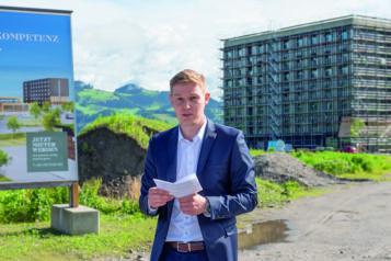 Auf dem Bild: Florian Unterberger (Geschäftsführer Unterberger Immobilien)