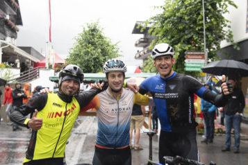 Das Siegertrio (v.l.n.r.): Mathias Nothegger, Patrick Schuler und Ben Witt.