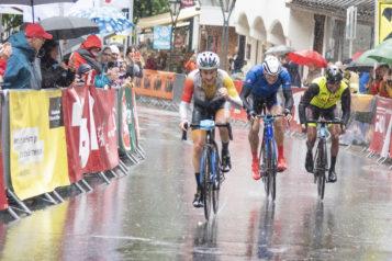 In einer Hundertstel-Entscheidung konnte der Schweizer Patrick Schuler den 10. ARLBERG Giro für sich entscheiden.
