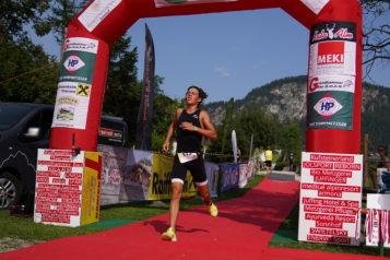 Der Nachwuchsathlet Leo Fill kürte sich zum Tiroler Meister über die Sprintdistanz.