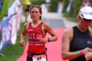 Bei den Damen entschied die Kölnerin Madlen Kappeler die Olympische Distanz für sich.