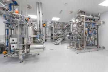 Als Generalplaner setzte SPIEGLTEC eine High-Tech-Produktionsanlage für Plasmide um.